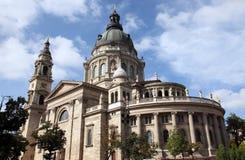 大教堂布达佩斯st斯蒂芬 库存图片