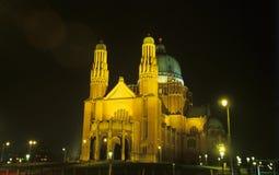 大教堂布鲁塞尔 免版税图库摄影