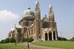 大教堂布鲁塞尔koekelberg 免版税图库摄影