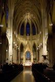 大教堂帕特里克s st 库存图片