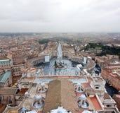 大教堂广场pietro ・圣vaticana 库存图片