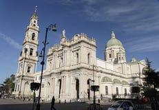 大教堂庞贝城 免版税库存照片