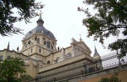大教堂弗朗西斯科・马德里圣 库存照片