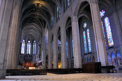 大教堂弗朗西斯科雍容圣 库存图片