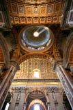 大教堂彼得・罗马s圣徒 免版税图库摄影