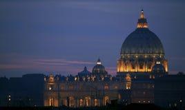 大教堂彼得圣徒 免版税库存图片