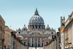 大教堂彼得s圣徒梵蒂冈 库存照片