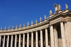大教堂彼得s st梵蒂冈 免版税库存图片