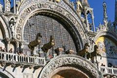 大教堂意大利标记圣徒威尼斯 免版税库存图片