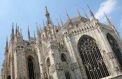 大教堂意大利米兰 库存图片