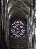 大教堂意大利otranto普利亚圆花窗 免版税图库摄影