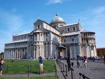 大教堂意大利piza 免版税库存图片