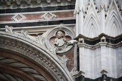 大教堂意大利siena 库存图片