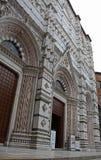 大教堂意大利siena 图库摄影