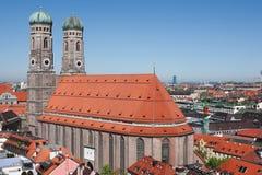 大教堂慕尼黑 免版税库存照片