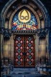 大教堂捷克门哥特式主要新保罗・彼得・布拉格共和国st 库存图片
