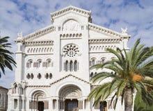 大教堂摩纳哥 免版税库存图片