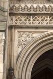 大教堂教会在曼彻斯特,英国 免版税库存照片