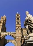 大教堂教会巴勒莫 免版税库存照片