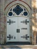 大教堂教会门 库存照片