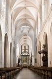 大教堂教堂中殿 免版税图库摄影