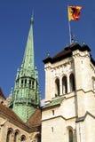 大教堂日内瓦 库存图片