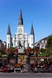 大教堂日路易斯圣徒 免版税库存照片