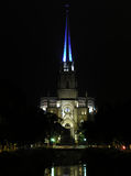 大教堂晚上彼得圣徒 免版税库存图片