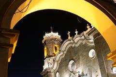 大教堂晚上波托西 库存图片