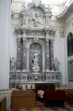 大教堂杜布罗夫尼克市内部 库存照片