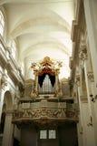 大教堂杜布罗夫尼克市内部 免版税库存照片