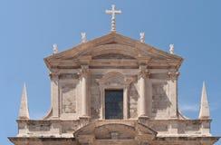 大教堂杜布罗夫尼克市 免版税库存图片