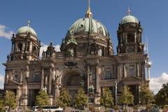 大教堂柏林-柏林大教堂,德国 免版税库存图片