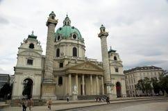 大教堂查尔斯st 免版税图库摄影