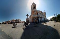 大教堂格拉纳达尼加拉瓜 免版税库存图片
