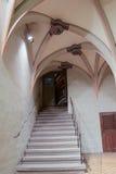大教堂楼梯 库存图片