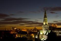 大教堂欧洲格拉斯哥苏格兰 图库摄影
