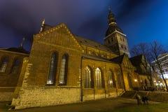 大教堂正方形的大教堂在老城市 免版税库存照片