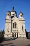 大教堂正统科鲁的napoca 图库摄影