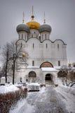 大教堂正统smolensky 免版税库存图片