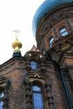 大教堂正统sophia st 库存图片