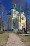 大教堂正统俄国 免版税库存照片