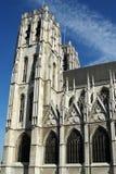 大教堂比利时oostende paulus petrus st 库存照片