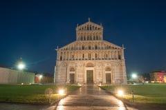 大教堂比萨 免版税图库摄影