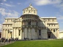 大教堂比萨s正方形 比萨,意大利 库存照片