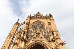 大教堂法国梅茨 免版税库存图片