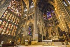 大教堂法国梅茨 库存图片
