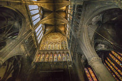 大教堂法国梅茨 图库摄影