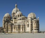 大教堂法国马赛 免版税库存照片
