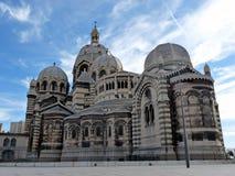 大教堂法国马赛 免版税库存图片